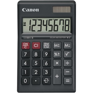 CANON LS-88HI III-BK Mini Desktop Calculator 4425B008