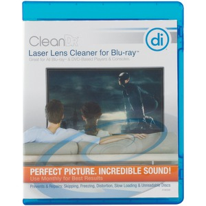 DIGITAL INNOVATIONS CleanDr(R) for Blu-ray(TM) Laser Lens Cleaner 4190300