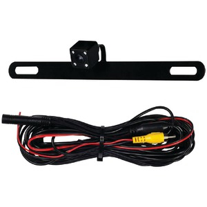 IBEAM Behind License Plate Camera with IR LEDs TE-BPCIR