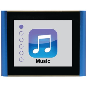 8GB V180 Music & Video Player (Blue)