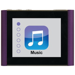 8GB V180 Music & Video Player (Purple)