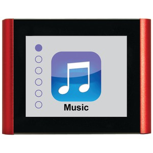 8GB V180 Music & Video Player (Red)