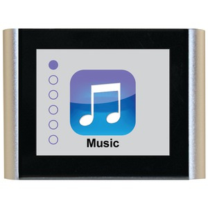 8GB V180 Music & Video Player (Silver)