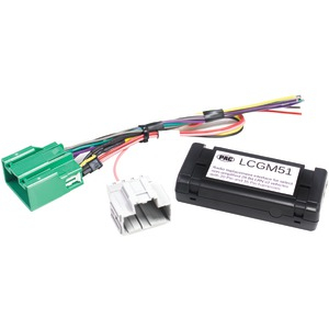 PAC Radio Replacement Interface for Select Nonamplified GM(R) Vehicles (29-Bit 20 & 16 Pin) LCGM51