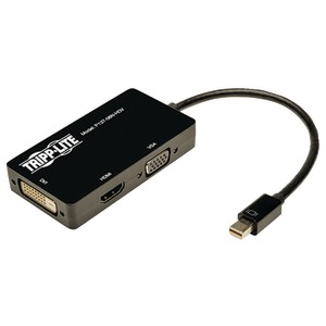 TRIPPLITE Mini Displayport to VGA-DVI-HDMI Adapter P137-06N-HDV