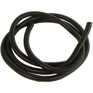 Black Split-Loom Cable Tubing 100ft (.63