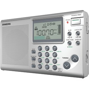 SANGEAN FM-MW-SW Stereo World Receiver ATS-405