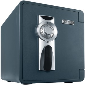 FIRST ALERT .94 Cu ft Waterproof Fire Safe with Combination Lock & Ready-Seal Bolt Down 2087F-BD