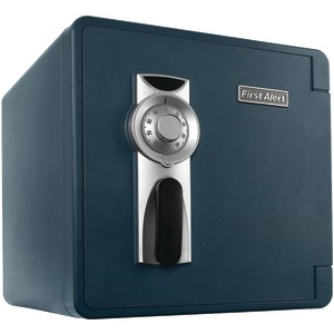 FIRST ALERT 1.3 Cu ft Waterproof Fire Safe with Combination Lock & Ready-Seal Bolt Down 2092F-BD