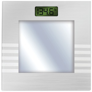 Bluetooth(R) Digital Body Mass Scale (Silver)