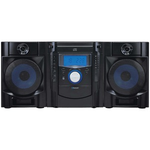SYLVANIA Bluetooth(R) CD Radio Micro System with Blue LED Display SRCD2731BT