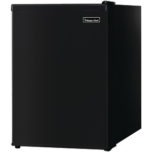 MAGIC CHEF 2.4 Cubic-ft Compact Refrigerator (Black) MCBR240B1