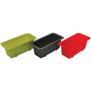 STARFRIT Silicone Mini Loaf Pans Set of 3 080335-006-0000