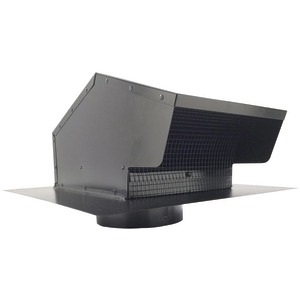 BUILDERS BEST Black Metal Roof Vent Cap (6 012633