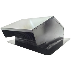 BUILDERS BEST Black Metal Roof Vent Cap (6 012634