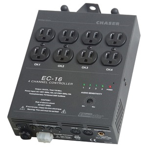 ELIMINATOR LIGHTING 4-Channel Light Controller with 8 Outputs EC16
