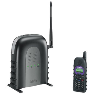 Durafon(R) SIP Long-Range Cordless Telephone System with 1 Base Station & 1 Handset