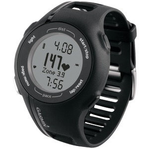 REFURB Forerunner(R) 210 with Heart Rate Monitor Black