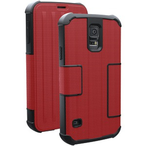 Samsung(R) Galaxy S(R) 5 Folio Case (Rogue; Red)