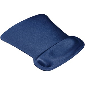 ALLSOP Ergoprene Gel Mouse Pad with Wrist Rest (Blue) 30193