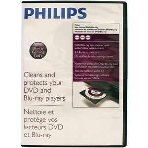 PHILIPS DVD-Blu-Ray Laser Lens Cleaner SVC2341/27