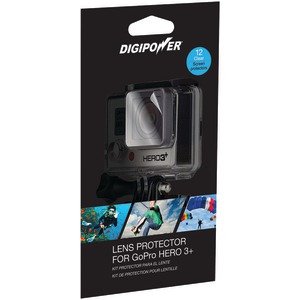 DIGIPOWER Lens Protector with 12 Clear Screens for GoPro(R) Hero3+ LP-GPH3+