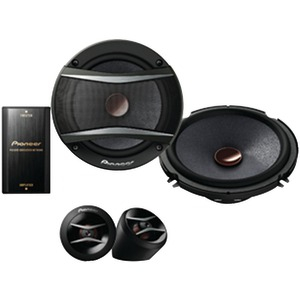 PIONEER 6.5 inch. A-Series 350-Watt Component Speakers TS-A1606C