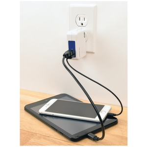 3.4-Amp 2-Port USB Wall Charger-Travel Charger