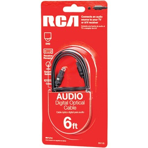 RCA Digital Optical Cable 6ft DV11R