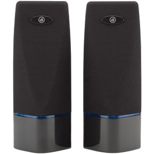 DIGITAL INNOVATIONS AcoustiX(TM) Multimedia 2.0 Speakers 4330100