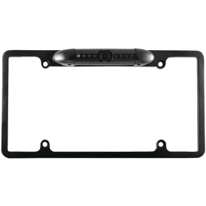 XOVISION License Plate Frame Backup Camera with 170deg Wide-Angle View (Black) LP137B