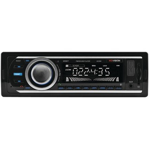 XOVISION Single-DIN In-Dash FM-MP3 Stereo Digital Media Receiver with USB Port & SD(TM) Card Slot XD107