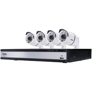 8-Channel 720p HD 1TB DVR with 4 Outdoor HD Cameras