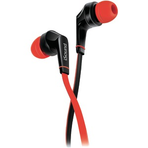 DREAMGEAR EM-60 Earbuds with Microphone (Red) DGHP-5724