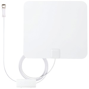 ANTOP ANTENNA INC Paper Thin Smartpass Amplified Indoor HDTV Antenna AT-100B