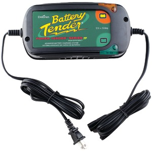 12-Volt 5-Amp Power Tender Plus High-Efficiency Charger