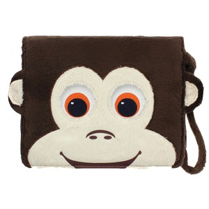 TABZOO Interactive Universal 8 inch. Tablet Monkey Folio Case TZ650MAP