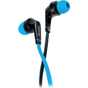 DREAMGEAR EM-60 Earbuds with Microphone (Blue) DGHP-5723