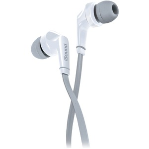 EM-60 Earbuds with Microphone (White)