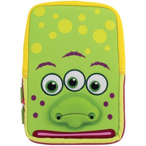 TABZOO 8 inch. Universal Green Monster Tablet Sleeve TZ532MG