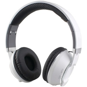 SUPERSONIC Over-Ear Bluetooth(R) Headphones with Microphone (White) IQ-129BT-W