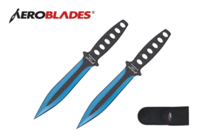 Aeroblades 2pc Throwing Knives Set A2009-2BL