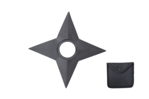 WJ 5 inches Rubber Throwing Star G-D007