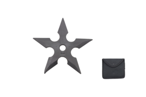 WJ 5 inches Rubber Throwing Star G-D008