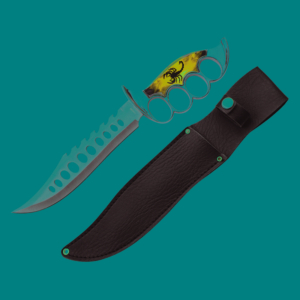 WJ 10 inches Scorpion Trench Knife H-984-SK