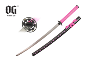 WJ 41 inches Katana w- Marijuana Leaf Pattern KOG02PK