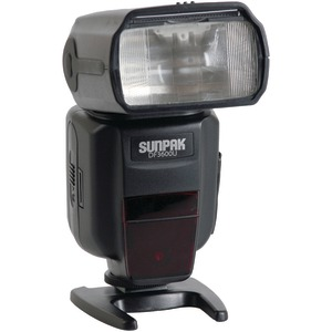 SUNPAK DF3600U Universal Flash for Canon(R) & Nikon(R) Cameras DF3600U-CN