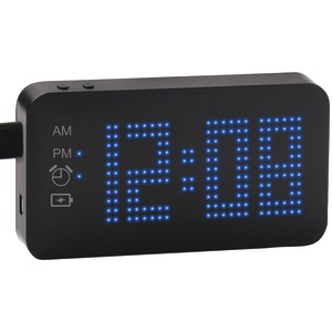 SXE 4,000mAh Portable Power Bank Alarm Clock SXE87004