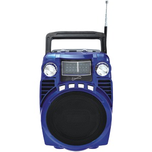 SUPERSONIC Supersonic Bluetooth(R) Portable 4 Band Radio;Product Code: SC-1390BT SC-1390-BL