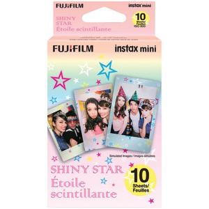 FUJIFILM Instax(R) Mini Film Pack (Shiny Star) 16404193